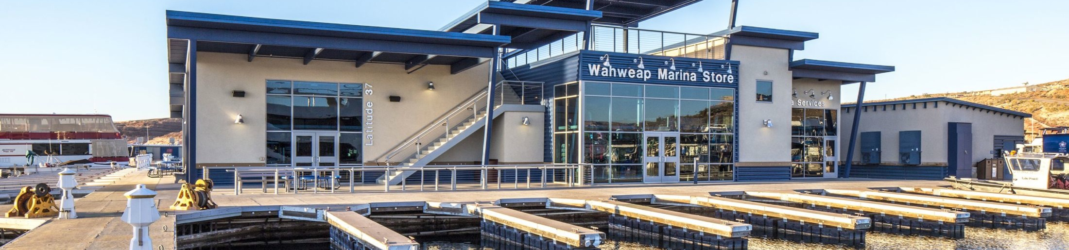 Wahweap Marina Store on South Lake Powell